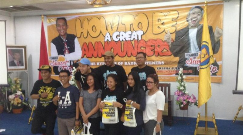 HIMAKOM : WORKSHOP HOW TO BE A GREAT ANNOUNCER
