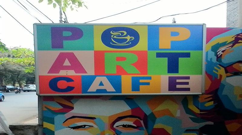 Mau Nongkrong Sambil Cari Inspirasi Pop Art Cafe Tempatnya