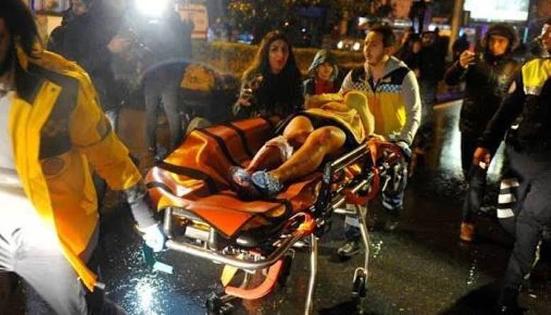 Teror Malam Tahun Baru di Turki