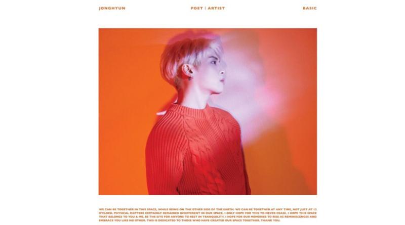 Album Jonghyun Shinee yang berhasil masuk ke Billboard 200