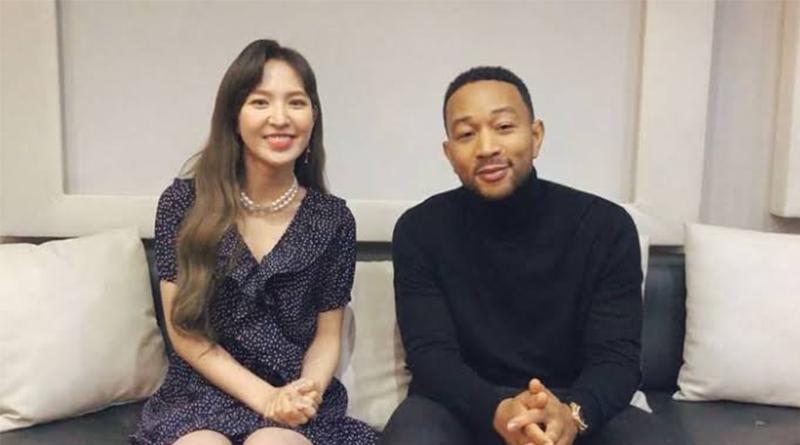 Merdunya Kolaborasi Wendy Red Velvet X John Legend untuk Station x 0