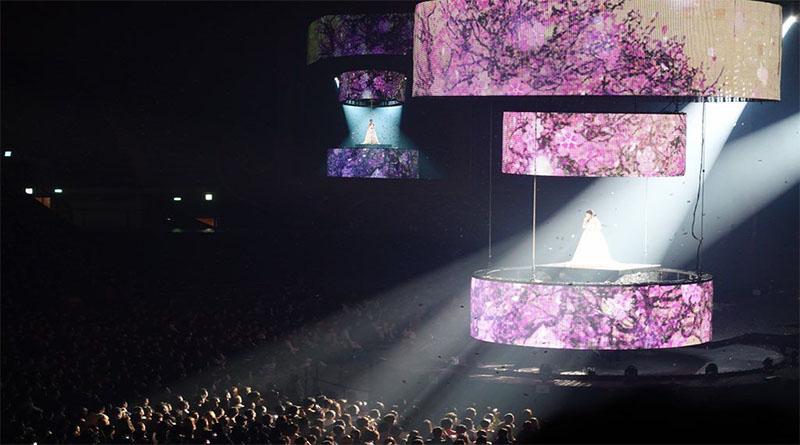 Konser ke 10 tahun IU bertajuk Dlwlrma yang  Penuh Emosional