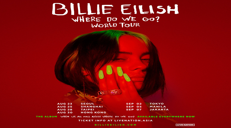 Catat 7 September 2020 Billie Eilish Konser di Jakarta