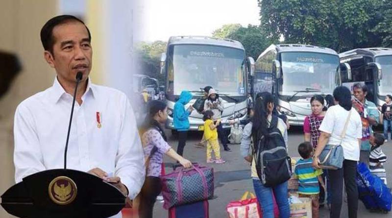 Jokowi Larang Mudik Lebaran 2020 Ada Aturan Beserta Sanksinya