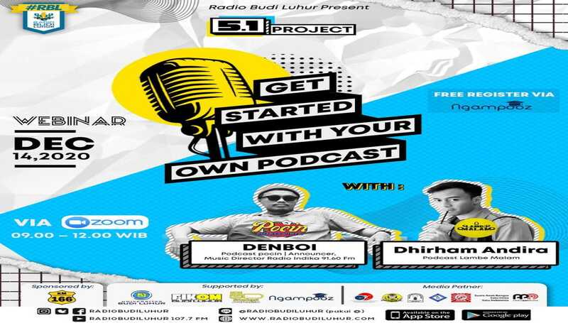 Webinar 5.1 Project : Get Started With Your Own Podcast
