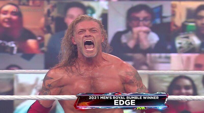 Edge Juara Royal Rumble Match 2021!